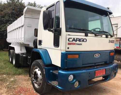FORD CARGO 2422 - 6X2 - 2004 - CAÇAMBA - DISP. P/ VISITAS