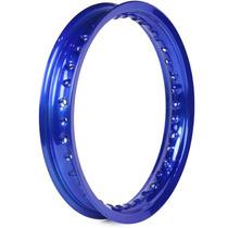 Aro Traseiro De Moto 14 X 1.85 Pop 100 2007 A 2015 - Azul