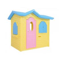 Novo Brinquedo Para Playground Casa Tropical Plus Creme