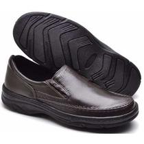 Sapato Social Masculino Sola Borracha Confort Anti Stress