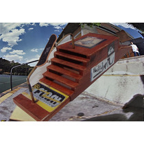 Funbox Com Corrimao Skate De Dedo Fingerboard Pista Rampa