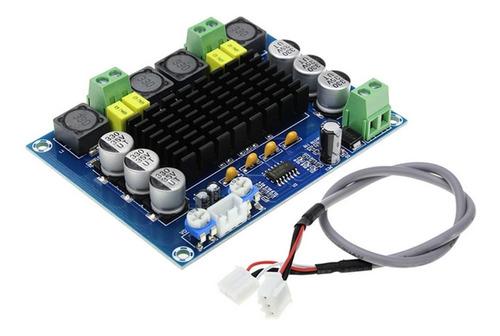 Placa Amplificador 2.0 Modulo 120+120 240w Rms Potencia
