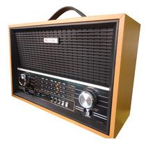 Radio Recaregavel Livstar Am Fm Usb/sd Portatil
