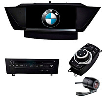 Central Multimidia Bmw X1 Voolt Tela De 9 I-drive Tv Dig Dvd