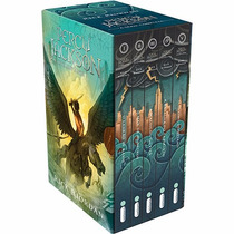 Box Percy Jackson E Os Olimpianos Coleção Completa 5 Livros