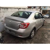 Sucata Renault Logan 1.6 Dynamique 2015 Somente Para Peças
