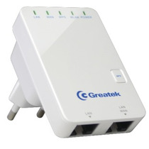 Mini Roteador Repetidor Wireless Greatek Wr3300n 300 Mbps