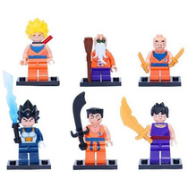 Dragon Ball Z - Minifigures Compatível C/ Lego - Kit 6 Pcs