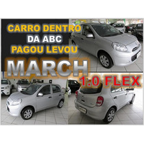 Nissan March 1.0 - Ano 2014 - Financio Sem Burocracia