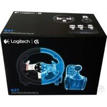 Volante G27 Racing Logitech Para Pc / Ps2 / Ps3 Novo