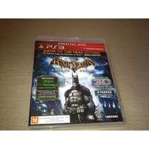 Batman Arkham Asylum Game Of The Year Edition Comp. 3d