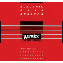 Encordoamento Warwick Para Baixo 4 Cordas 040 - Nfe