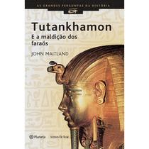 Livro - Tutankhamon E A Maldição Dos Faraós - Egito