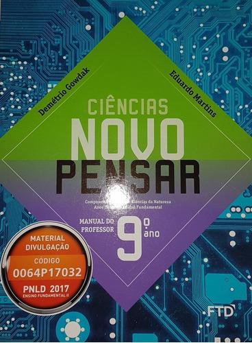 Livro Ciências 9 Ano Gowdak & Martins
