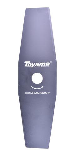 Lâmina Com 2 Pontas Para Roçadeiras Tcb33025220 Toyama
