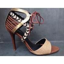 Sandália Salto Sapato Feminino 80% Off