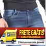 Calça Jeans Masculina Skinny Manchada Lycra Camisas Moletom