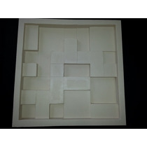 Forma De Silicone Para Placa De Gesso Em Mosaico