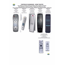 Controle Remoto Home Theater Durabrand Ht-395 Ht-3916 Ht5102