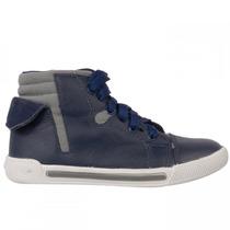 Bota Infantil Masculina Bibi Sneakers New Couro Original
