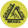 Patch Bordado Mda1 - Gracie Jiu Jitsu P/ Kimonos