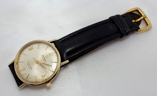 e8182d3bed8 Relógio Omega Ouro 14k Seamaster Deville Automático