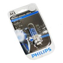 Lâmpada Farol Blue Vision 4000k 35w Efeito Xenon Honda Biz
