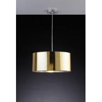 Luminária Pendente Bronzearte Metil Lâmpada E27 - Ouro