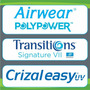 Lente Airwear Polypower 1,59 Transitions Cinza Crizal Alizee