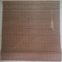 Persiana Bambu Cortina Madeira Bandô 1,00 X 2,20 Cm Zebrano