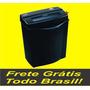 Fragmentadora Trituradora De Papel As1210sb 12 Folhas - 110v