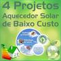 3 Projeto Detalhado De Aquecedor Solar, Placa Painel Solar