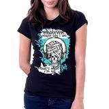 Camiseta Blusa Feminina Whatever people say that i am Arctic Monkeys