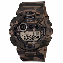 Relógio Casio Masculino G-shock Gd-120cm-5dr - Gd120