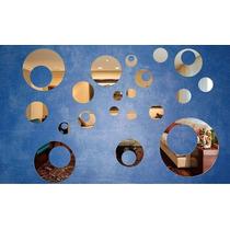 Kit Com 16 Espelhos Decorativos - Bolas Furadas