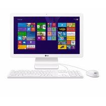 All In One Lg 22v280 Intel Quad Core 4 Gb Hd 500 Gb Ips 21,5