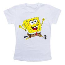 Camiseta Infantil - Bob Esponja