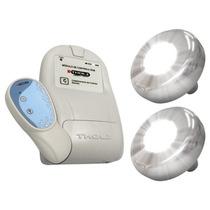 Iluminação Led Piscina Tholz- Kit 2 Refletores Inox + Módulo