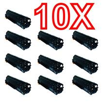 Kit 10 Peças Toner Compatível Hp Ce285a Ce285 285a 285 85a