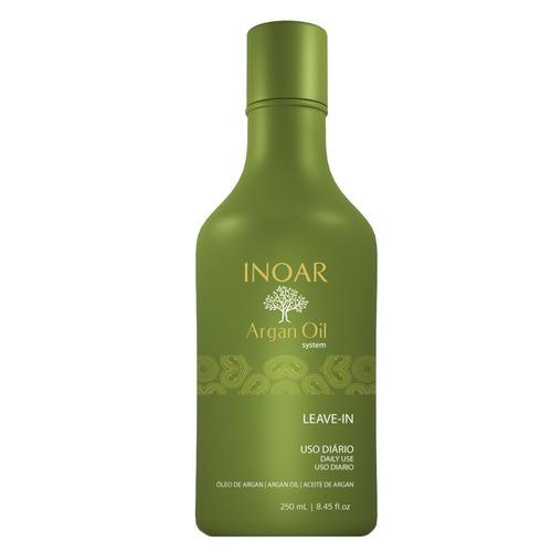 Argan Oil System Oleo De Argan Leave - in Inoar - 250ml