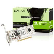 Placa De Vídeo Galax Geforce Gt 1030 Exoc White 2gb Ddr4 64b