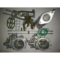 Kit Solex 40/44 Eis Coletor Acionamento Fusca Brasilia Puma