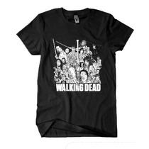 Camiseta The Walking Dead (personagens)