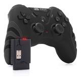Controle Pc Sem Fio Wireless Joystick Ps3 Ps2 Recarregável