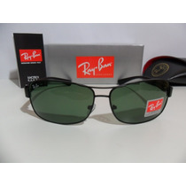 Ray Ban 3379 Preto Lente Verde G15