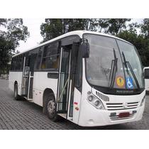 Ônibus Urbano Micrão 2009/09, Mercedes Of 1722, 36lg, 80 Mil