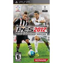 Jogo Lacrado Novo Pes 2012 Pro Evolution Soccer Psp Portatil