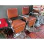 Duas Cadeiras De Barbeiro Ferrante Antigas