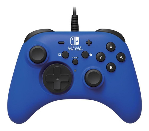 Controle Joystick Hori For Switch Azul