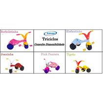 Triciclo Velotrol Xalingo Criança - Varios Modelos Consulte